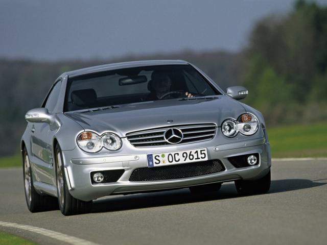 2003 SL 55 AMG mit F1-Safety-Car Performance Package
